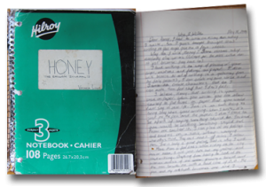 Green Hilroy Notebook