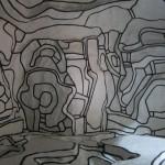 Le Jardin D'hiver by Jean Dubuffet